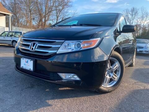 2013 Honda Odyssey for sale at Mega Motors in West Bridgewater MA