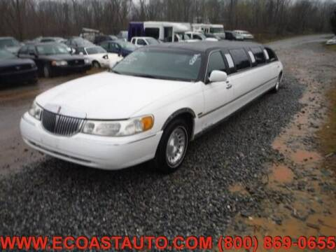 2000 Lincoln Town Car for sale at East Coast Auto Source Inc. in Bedford VA