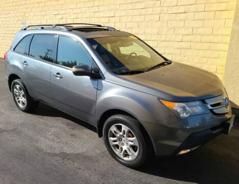 2008 Acura MDX for sale at Cars To Go in Sacramento CA