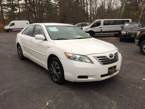 2009 Toyota Camry Hybrid for sale at Bladecki Auto in Belmont NH