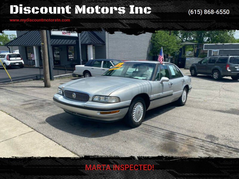1999 Buick LeSabre for sale at Discount Motors Inc in Madison TN