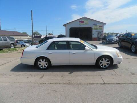 2006 Cadillac DTS for sale at Jefferson St Motors in Waterloo IA