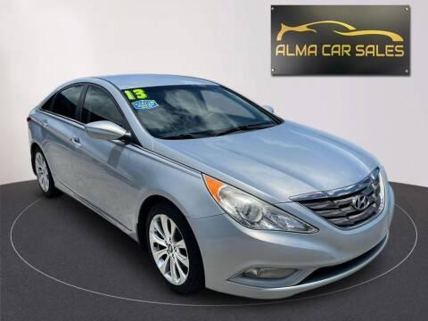 2013 Hyundai Sonata for sale at Alma Car Sales in Miami FL