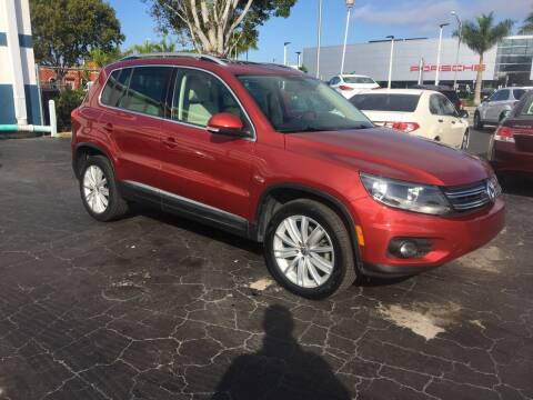 2012 Volkswagen Tiguan for sale at CAR-RIGHT AUTO SALES INC in Naples FL