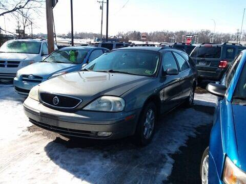 2002 Mercury Sable for sale at Affordable 4 All Auto Sales in Elk River MN