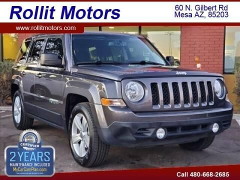 2017 Jeep Patriot for sale at Rollit Motors in Mesa AZ