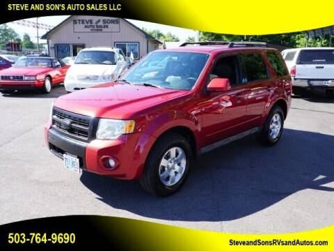 2012 Ford Escape for sale at Steve & Sons Auto Sales in Happy Valley OR