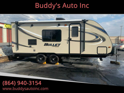 2017 Bullet Crossfire 2070 BH for sale at Buddy's Auto Inc in Pendleton SC