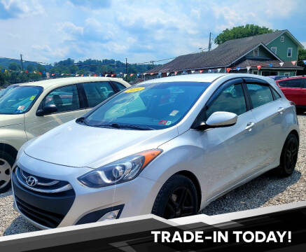 2014 Hyundai Elantra GT for sale at Sissonville Used Car Inc. in South Charleston WV
