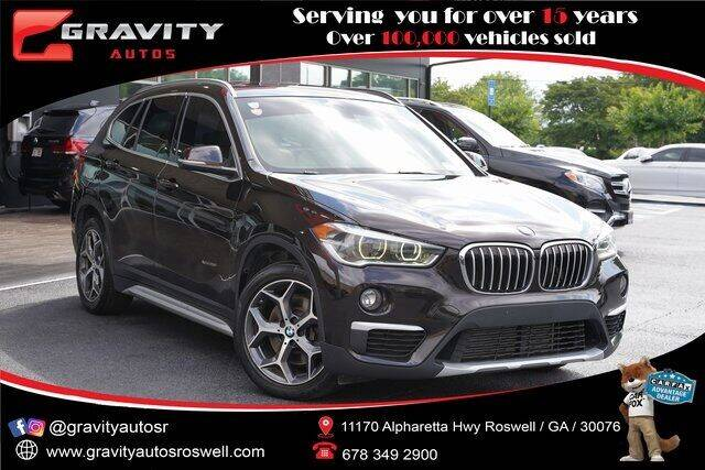 2016 BMW X1 for sale at Gravity Autos Roswell in Roswell GA