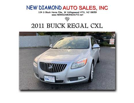 2011 Buick Regal for sale at New Diamond Auto Sales, INC in West Collingswood Heights NJ