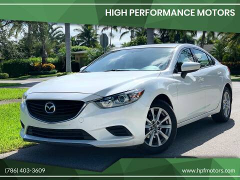 2015 Mazda MAZDA6 for sale at HIGH PERFORMANCE MOTORS in Hollywood FL