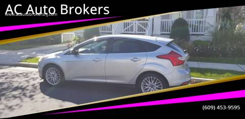 2012 Ford Focus for sale at AC Auto Brokers in Atlantic City NJ