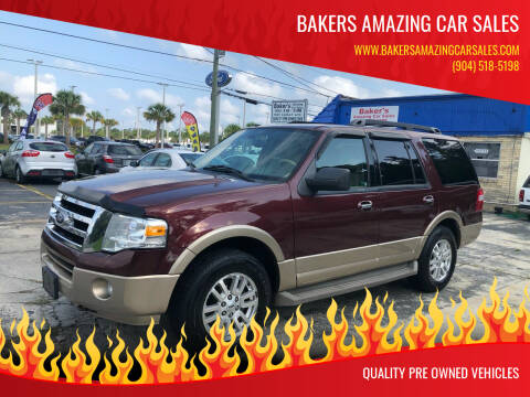 2011 Ford Expedition for sale at Bakers Amazing Car Sales in Jacksonville FL