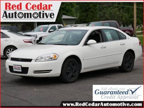 2006 Chevrolet Impala for sale at Red Cedar Automotive in Menomonie WI