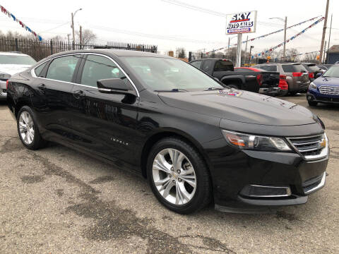 2015 Chevrolet Impala for sale at SKY AUTO SALES in Detroit MI