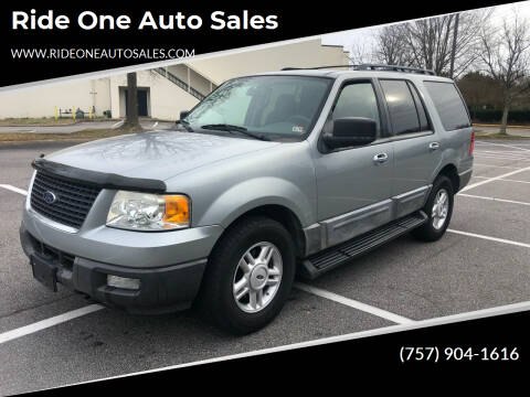 2006 Ford Expedition for sale at Ride One Auto Sales in Norfolk VA
