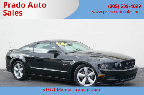 2014 Ford Mustang for sale at Prado Auto Sales in Miami FL