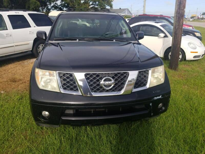 2006 Nissan Pathfinder for sale at Webb's Automotive Inc 11 in Morehead City NC