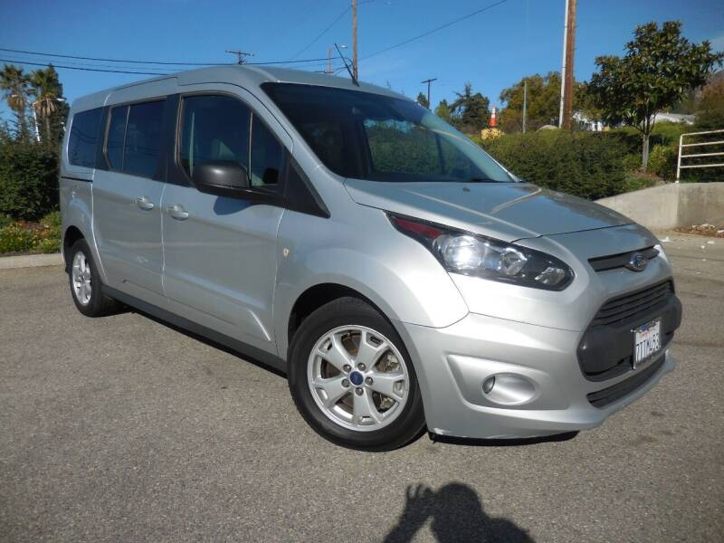 2015 Ford Transit Connect Wagon for sale at ARAX AUTO SALES in Tujunga CA