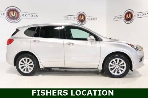 2017 Buick Envision for sale at Unlimited Motors in Fishers IN