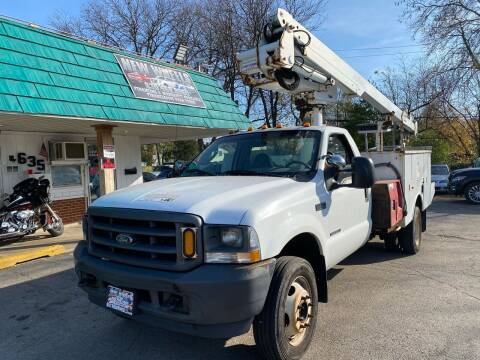 2003 Ford F-550 Super Duty for sale at New Wheels in Glendale Heights IL