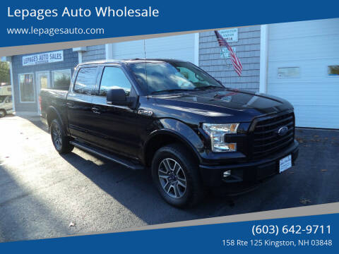 2016 Ford F-150 for sale at Lepages Auto Wholesale in Kingston NH