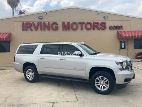 2015 Chevrolet Suburban for sale at Irving Motors Corp in San Antonio TX