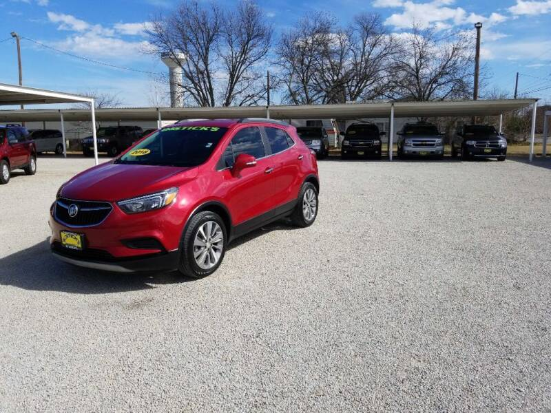 2018 Buick Encore for sale at Bostick's Auto & Truck Sales in Brownwood TX