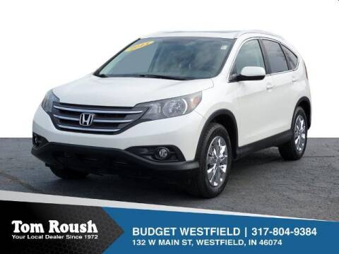 2013 Honda CR-V for sale at Tom Roush Budget Westfield in Westfield IN