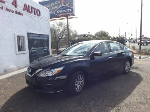 2017 Nissan Altima for sale at Hotline 4 Auto in Tucson AZ
