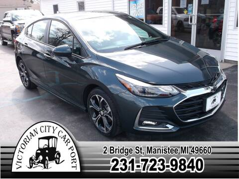 2019 Chevrolet Cruze for sale at Victorian City Car Port INC in Manistee MI