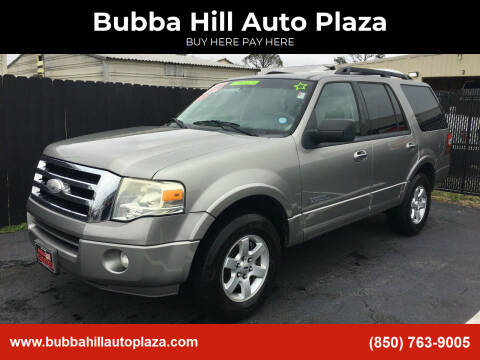 2008 Ford Expedition for sale at Bubba Hill Auto Plaza in Panama City FL