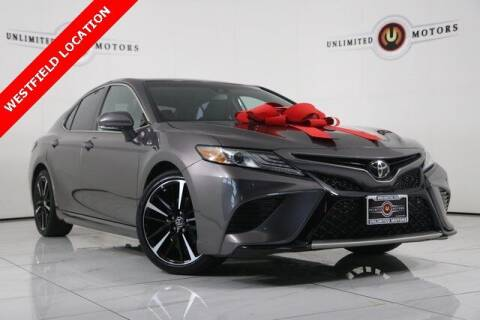 2018 Toyota Camry for sale at INDY'S UNLIMITED MOTORS - UNLIMITED MOTORS in Westfield IN