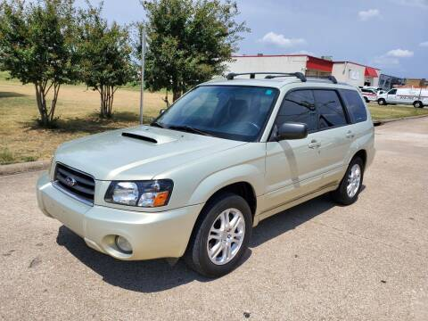 2005 Subaru Forester for sale at DFW Autohaus in Dallas TX