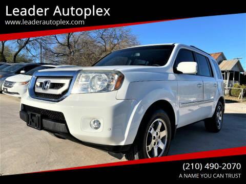 2010 Honda Pilot for sale at Leader Autoplex in San Antonio TX