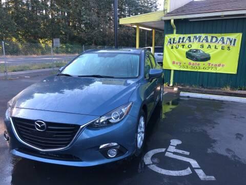 2014 Mazda MAZDA3 for sale at ALHAMADANI AUTO SALES in Spanaway WA