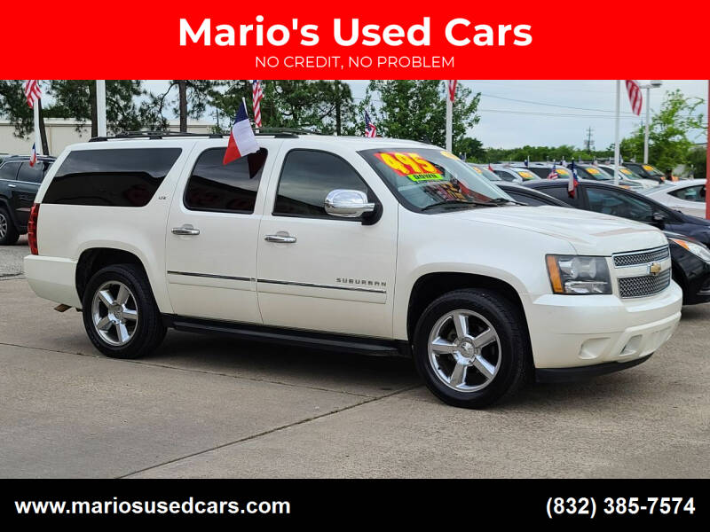 2011 Chevrolet Suburban for sale at Mario's Used Cars in Houston TX