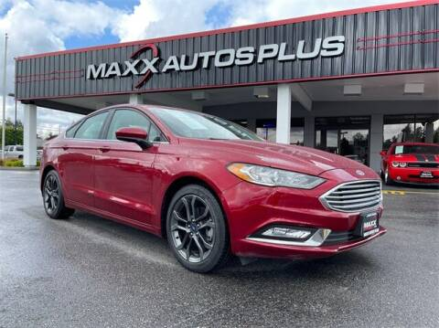 2018 Ford Fusion for sale at Maxx Autos Plus in Puyallup WA