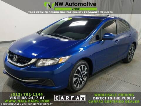 2015 Honda Civic for sale at NW Automotive Group in Cincinnati OH