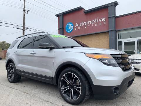 2014 Ford Explorer for sale at Automotive Solutions in Louisville KY