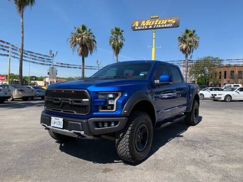 2018 Ford F-150 for sale at A MOTORS SALES AND FINANCE in San Antonio TX