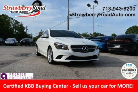 2016 Mercedes-Benz CLA for sale at Strawberry Road Auto Sales in Pasadena TX