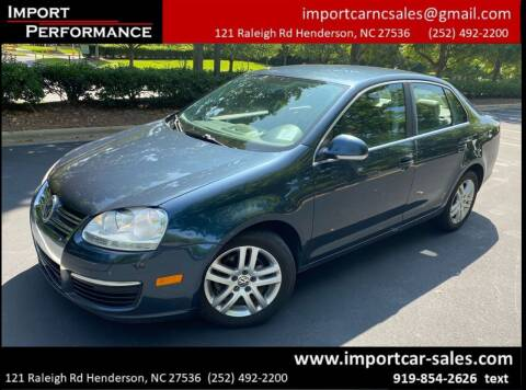 2007 Volkswagen Jetta for sale at Import Performance Sales in Raleigh NC