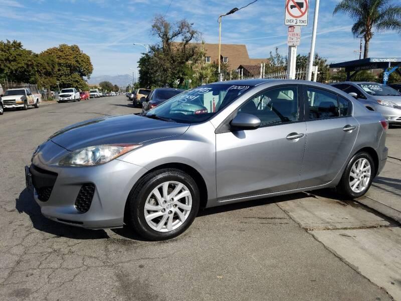 2012 Mazda MAZDA3 for sale at Olympic Motors in Los Angeles CA