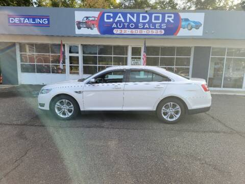 2013 Ford Taurus for sale at CANDOR INC in Toms River NJ