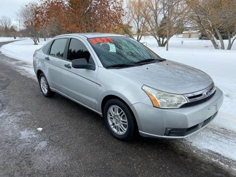 2010 Ford Focus for sale at BELOW BOOK AUTO SALES in Idaho Falls ID