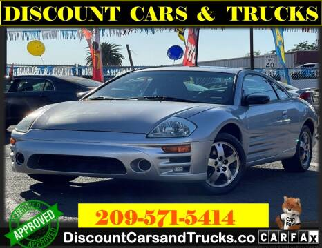 2003 Mitsubishi Eclipse for sale at Discount Cars & Trucks in Modesto CA