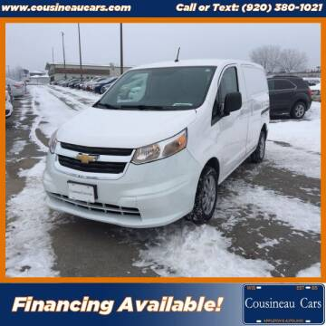 2015 Chevrolet City Express Cargo for sale at CousineauCars.com in Appleton WI
