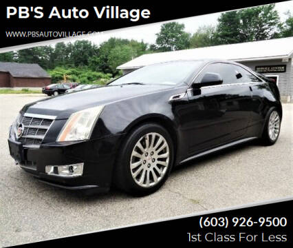 2011 Cadillac CTS for sale at PB'S Auto Village in Hampton Falls NH